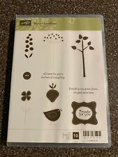NIP Stamping Up Best of Everything Unmounted Rubber Stamps Set of 10