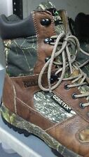 RedHead 8'' Side-Zip GORE-TEX Insulated Waterproof camouflage Hunting Boots 13