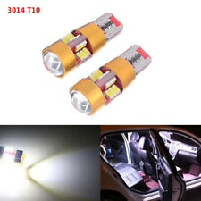 2pc Auto Car T10 W5W 3014 27 SMD Canbus Error Free LED Light Bulb Lamp White 12V
