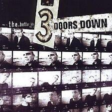 "3 DOORS DOWN ""THE BETTER LIFE"" CD NEUWARE"