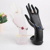 Hand Finger Gloves Ring Bracelet Bangle Jewelry Display Mannequin Stand Holder