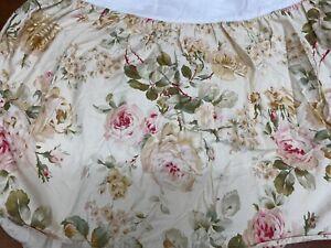 """Ralph Lauren Queen Bed Skirt Dust Ruffle 14.5"""" Drop"""