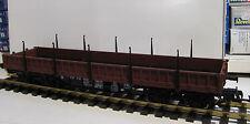 Piko G 37761 Niederbordwagen mit Rungen SSly der DR in Epoche IV NEUWARE mit OVP