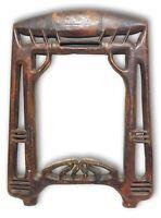 cornice in legno liberty epoca anni 50 vintage (cm 55 x 42)
