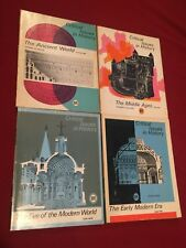 Lot of 4 Large Softback Books The Critical Issues in History Middle #1-7 Heath