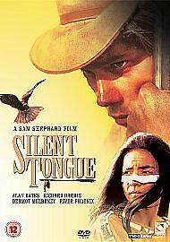 Silent Tongue (DVD, 2007) alan bates river phoenix NEW & SEALED free post in uk