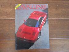 VINTAGE CAVALLINO FERRARI MAGAZINE NUMBER 30 December 1985 288 GTO