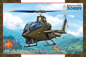 Special Hobby 1/72 Bell AH-1G Cobra 'Early Tails over Nam' # 72427