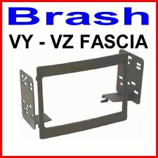 HOLDEN VY - VZ FASCIA  TO SUIT AFTERMARKET DOUBLE DIN STEREO