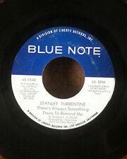 """Stanley Turrentine 7"""" blue note jazz funk 45 when I look into your eyes VG"""