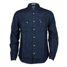 Camisas y polos de hombre en color principal azul talla M