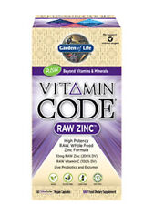 Garden of Life Vitamin Code RAW Zinc 60 Caps
