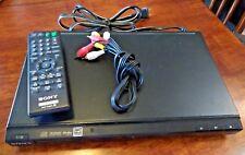 Sony DVP-SR200P Progressive Scan CD/ DVD Player w/remote and cables