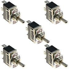 5 x ON-OFF-ON standard Toggle switch SPDT 15A 250Vac