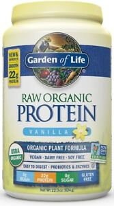 RAW Organic Protein by Garden of Life, 20 servings Vanilla