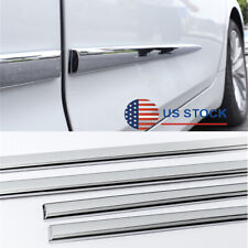 Car Side Skirt Door Side Line Chrome Body Molding Trim Stripe Kit Universal Usa Fits 2013 Kia Sportage