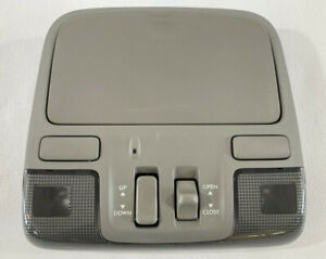 2006-2007 Subaru Tribeca Front Dome Reading Light With Sunroof Control Switch