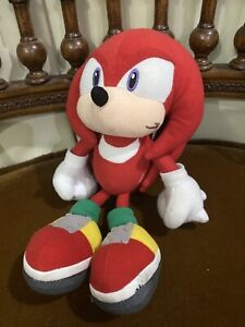 Rare Sega Knuckles Sonic X Project The Hedgehog 2003 Japan Plush fighters