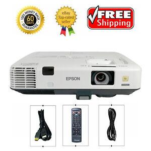 Epson PowerLite 1940W 3LCD Projector 4200 lumen WXGA Conference Room HDMI bundle