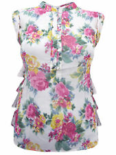 Regular Size Casual Floral Blouses for Women