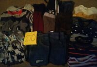 Boys Clothes 12 Month - Fall/Winter - Mixed Lot of 19 Pieces #270