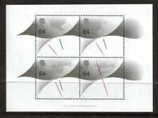 Gb Mnh 1999 ms2123 Milenio Timekeeper Minipliego