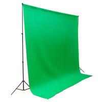 5' x 7' Green Chromakey Backdrop Screen Photography Photo Video Studio