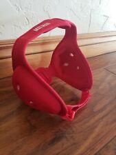 Red MatMan Wrestling Ultra Soft Headgear Ear Guard Mma youth