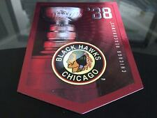 CHICAGO BLACKHAWKS STANLEY CUP BANNER 1938 GREAT CONDITION FREE COMBINED S&H