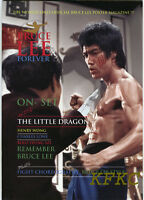"""BRUCE LEE FOREVER Fold-Out Poster-Magazine """"ON-SET ENTER THE DRAGON"""" Special"""
