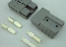 Anderson SB175 Connector Kit Gray 2 Awg 6329G5 2 Pack  2 housings and 4 contacts