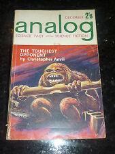 ANALOG : SCIENCE FACT SCIENCE FICTION - Vol XVIII No 12 - 12/1962 UK Edition