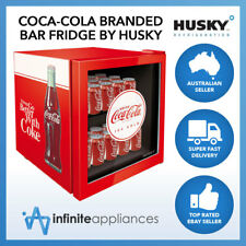 46L Officially Licensed Coca-Cola Branded Glass Door Bar Fridge by Husky