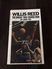 WILLIS REED THE KNICKS' TAKE-CHARGE MAN by Larry Fox Published 1970