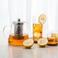 950ml / 32oz Glass Teapot with Infuser Loose leaf Glass Tea Kettle Stovetop Safe