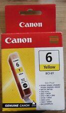 Original Canon BCI-6Y Tinte yellow  PIXMA iP3000 iP4000 iP5000 iP8500 4708A002 B