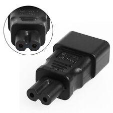 New Standard IEC 320 C14 Socket to IEC C7 Plug AC Power Adapter for LCD TV