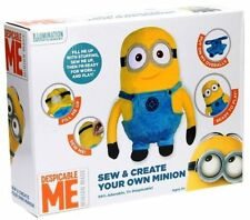 DESPICABLE ME 3 'MAKE OWN MINION SOFT MODEL STUFFED TOY' CRAFT KIT 028-0060