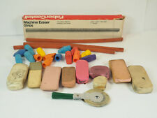 Vintage Faber Castell box machine electric eraser pencil used 28 grubby variety