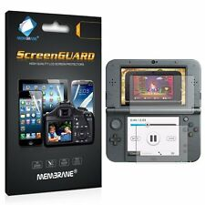 [6 Pack - HD Clear] Screen Cover Guards Protectors For Nintendo NEW 3DS XL 2016