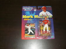 1999 Starting Lineup Mark Mcgwire Baseball Figure 62 Home Run Record Breaker
