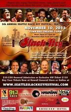 2013 POSTER - SEATTLE SLACK KEY FESTIVAL - Hawaii Guitar Ukulele Pahinui Color