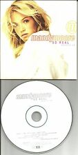 MANDY MOORE So Real Ultra RARE CARD SLEEVE ADVNCE PROMO DJ CD USA 1999 ABK69917
