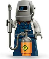 LEGO - Collectable Minifigure Series 11 Welder Torch Guy Construction NEW