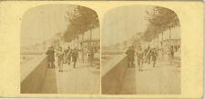 Photo Stéréo Albuminé Probablement Paris ? Vers 1850/60