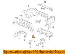 Acura HONDA OEM 04-06 MDX Rear Bumper-Inner Bracket 71594S3VA00