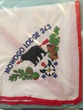 OA Lodge 243 N7 Restricted Very Tough Mint Embroidered Neckerchief