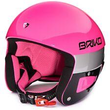 Briko Vulcano FIS 6.8 Ski Helmet Pink Explosion Black