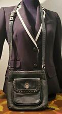 Brighton Crossbody Organizer Handbag Pebbled Leather Medium Shoulder Bag