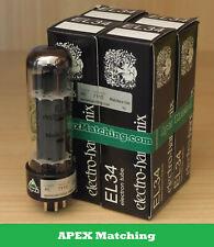 Electro Harmonix EL34 APEX valvole selezionate in QUARTETTO